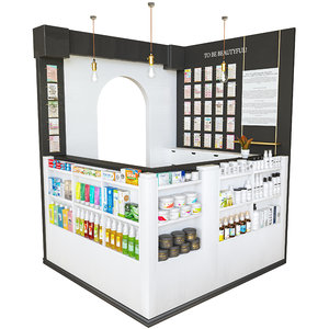 reception beauty salon 3D model