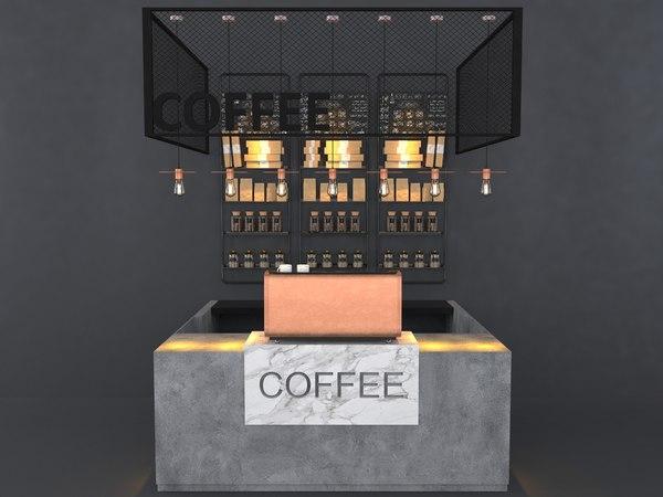3D cafes restaurants