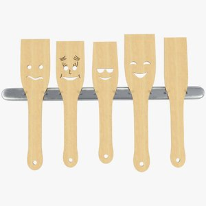set kitchen spatulas model