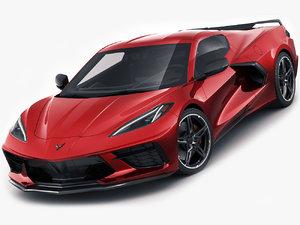 chevrolet corvette c8 3D model