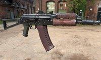 3D aks74u russian weapons