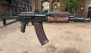 3D aks74u russian weapons