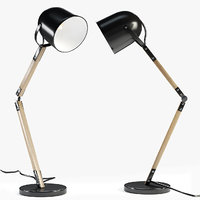 avery floor lamp matte 3D model