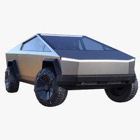 Tesla Cybertruck Elon Musk 2021