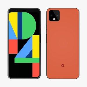 google pixel 4 3D