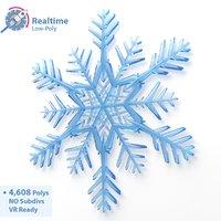 Snowflake Low-Poly