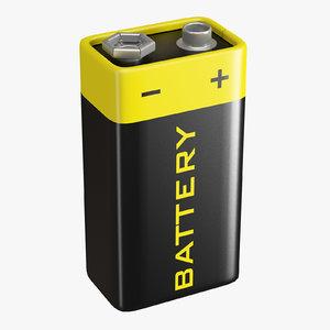 battery pp3 model