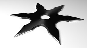 throwing star 2 3D
