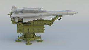 3D npo s-200 angara vega model