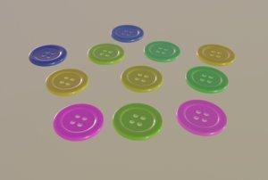 3D color button