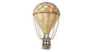 3D vintage balloon