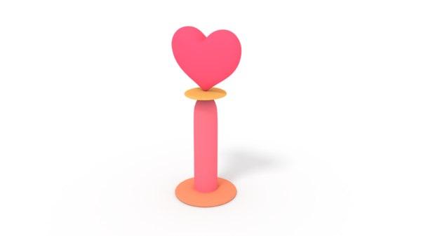 heart spin model