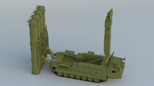 s-300vm sa-23 gladiator giant 3D model