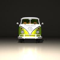 volkswagen type 2 3D