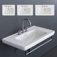 canova royal washbasin 3D model