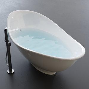 3D meg11 5418 bathtub model