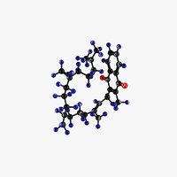 Vitamin K-Molecular Model