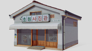 3D korean korea photo model