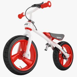 bicycoo balance bike 3D model