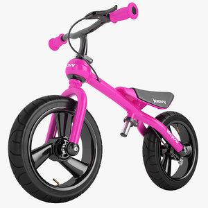 3D bicycoo balance bike