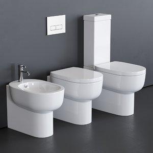 toilet m2 5221 55 3D model