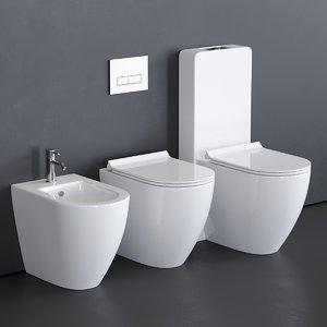 toilet dream 7316 7310 3D