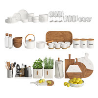 decor kitchen 3D model