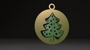3D christmas tree toy