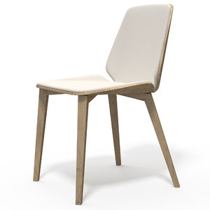 3D realistic chair model