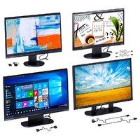 3D model computer monitors set