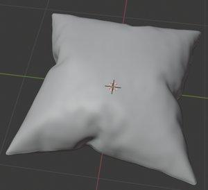 pillow cusion 3D