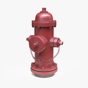 hydrant dirty 3D model