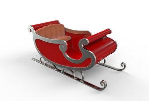 christmas xmas holiday 3D model