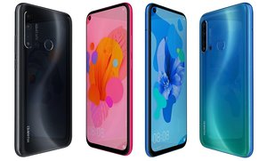 huawei nova 5i colors 3D model