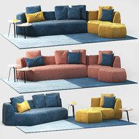 sofa panorama bonaldo model