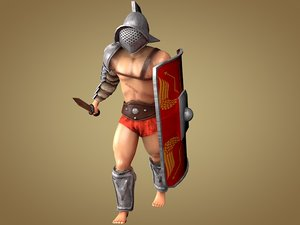 3ds 4 gladiators: murmillo gaul