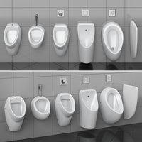 Urinals Cersanit set 74