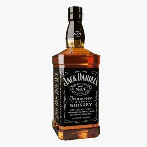 3D jack daniel s old