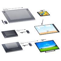 computer graphics tablets set 3D