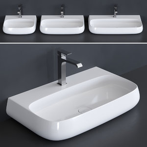 nur washbasin 3D model