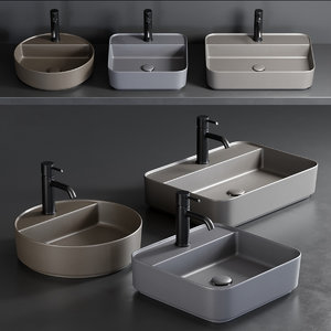 shui comfort washbasin 3D model