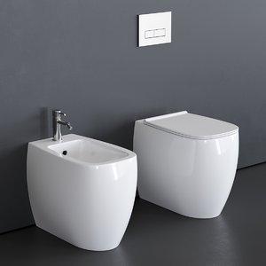 3D toilet nur
