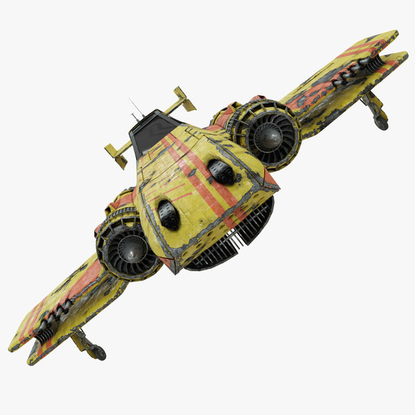 3D space fighter plane