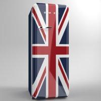 Smeg Fridge FAB28 Union Jack