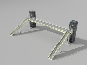3D model overpass pass