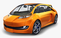 Generic Electric Concept Car