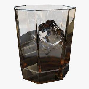 whiskey tumbler 3D model
