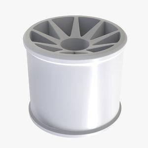 cylinder wheel v2 3D