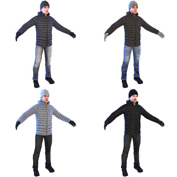 pack man 3D model