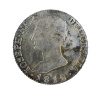old ancient spanish coin model